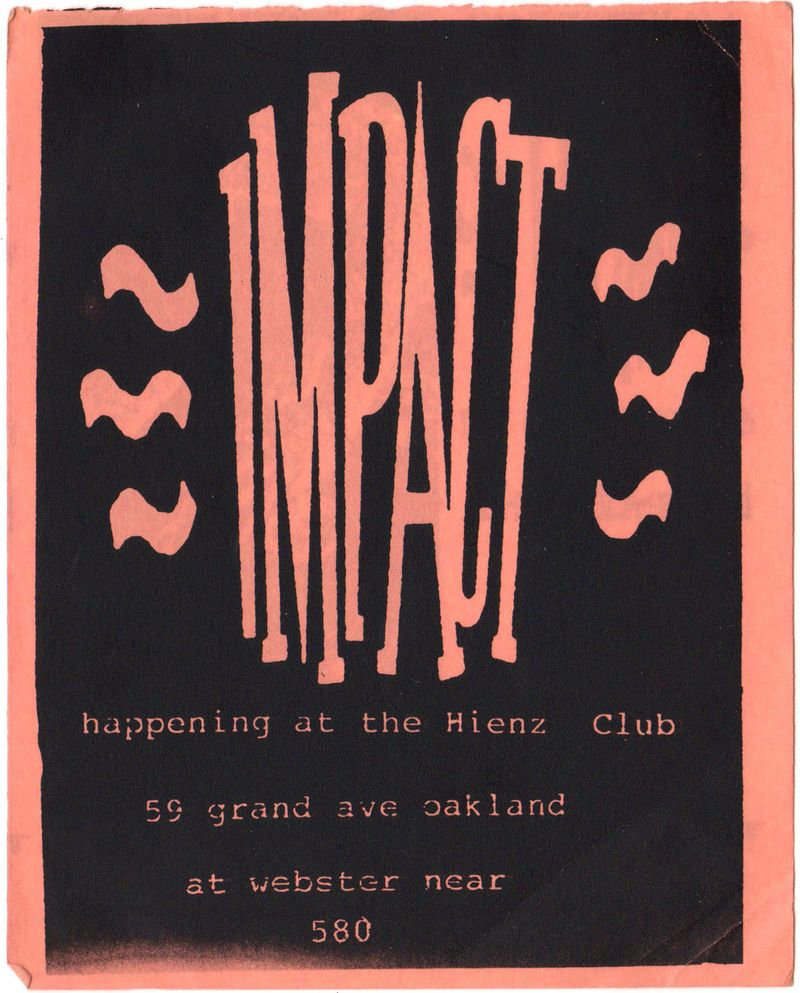 Impact flyer front