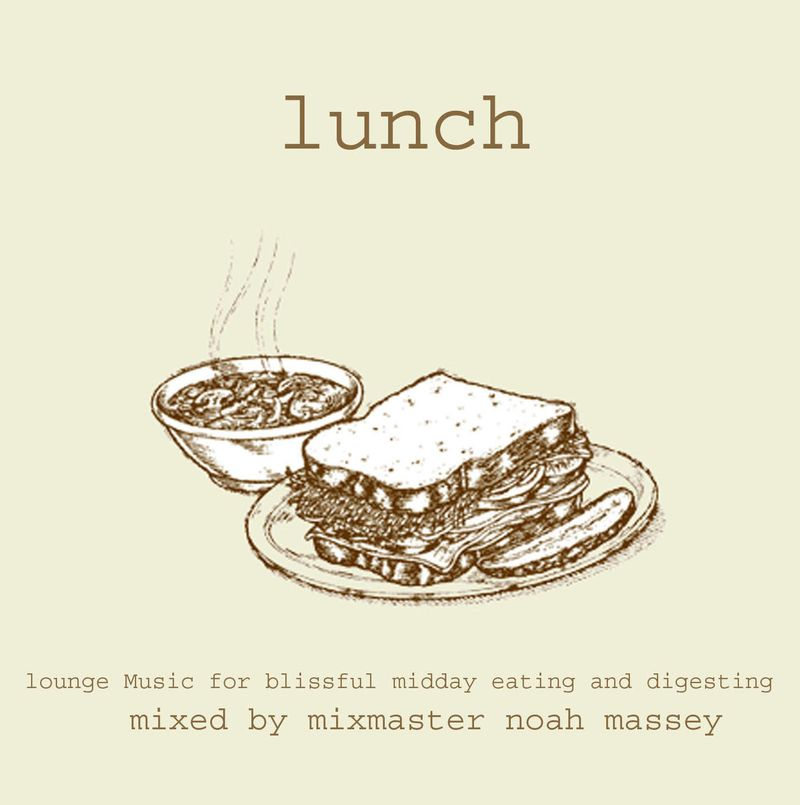 Lunch CD Cover web