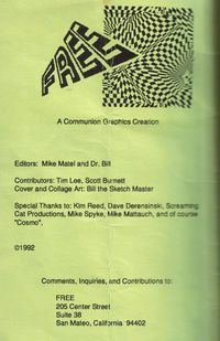 Free fanzine title page