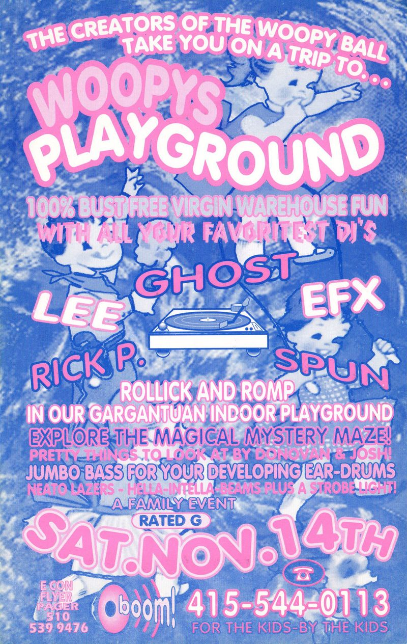 Woopys playground flyer back