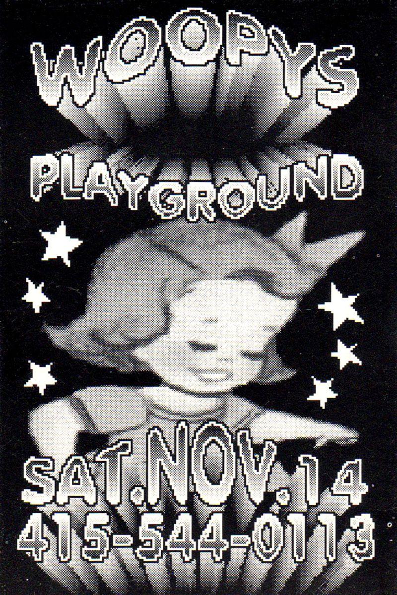 Woopys Playground teaser flyer