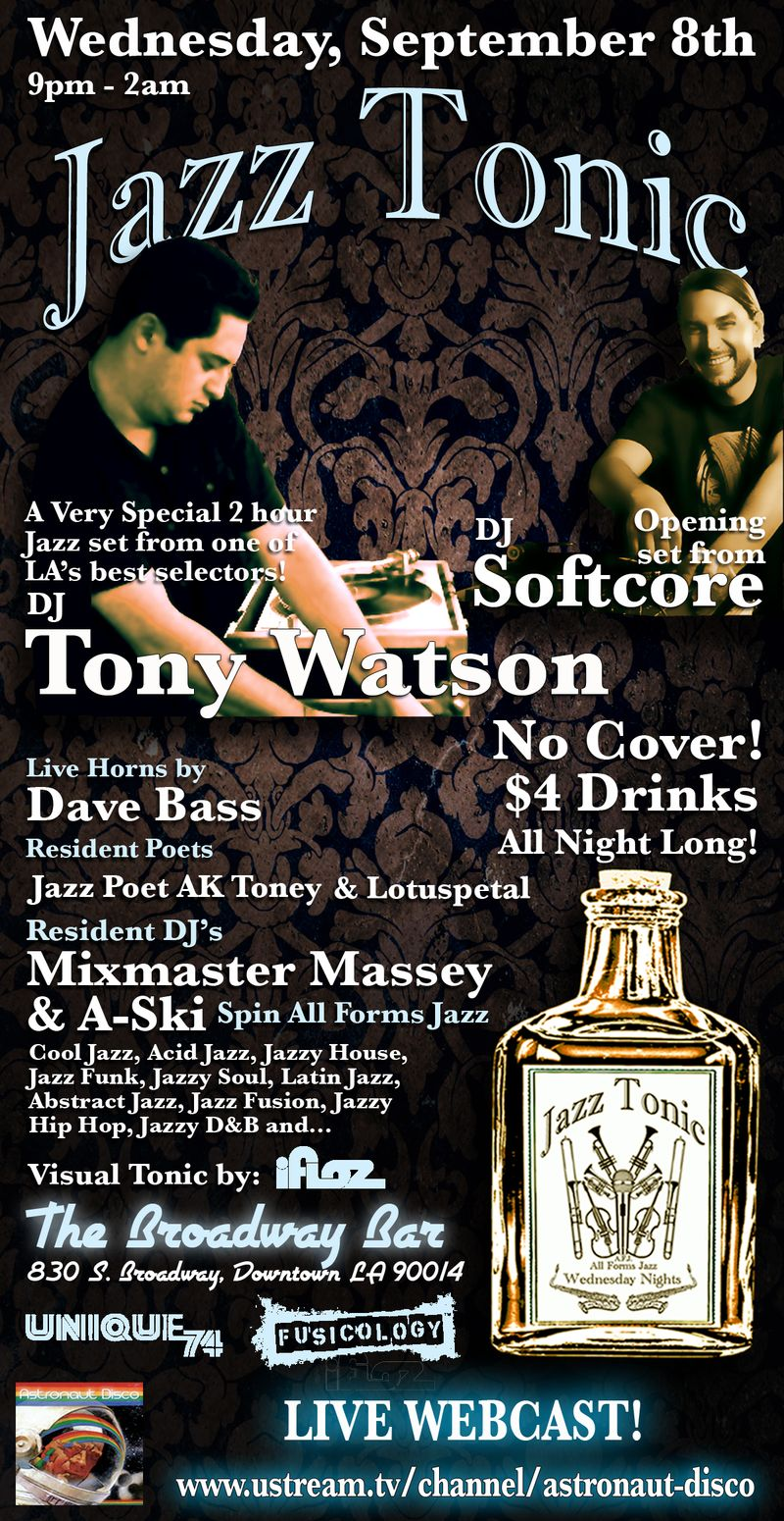 Jazz Tonic Flyer 9.8.10