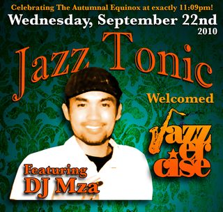 Mza live at Jazz Tonic mix cover