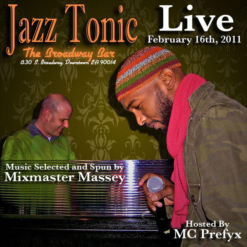Jazz tonic live 2.16.11 mix cover