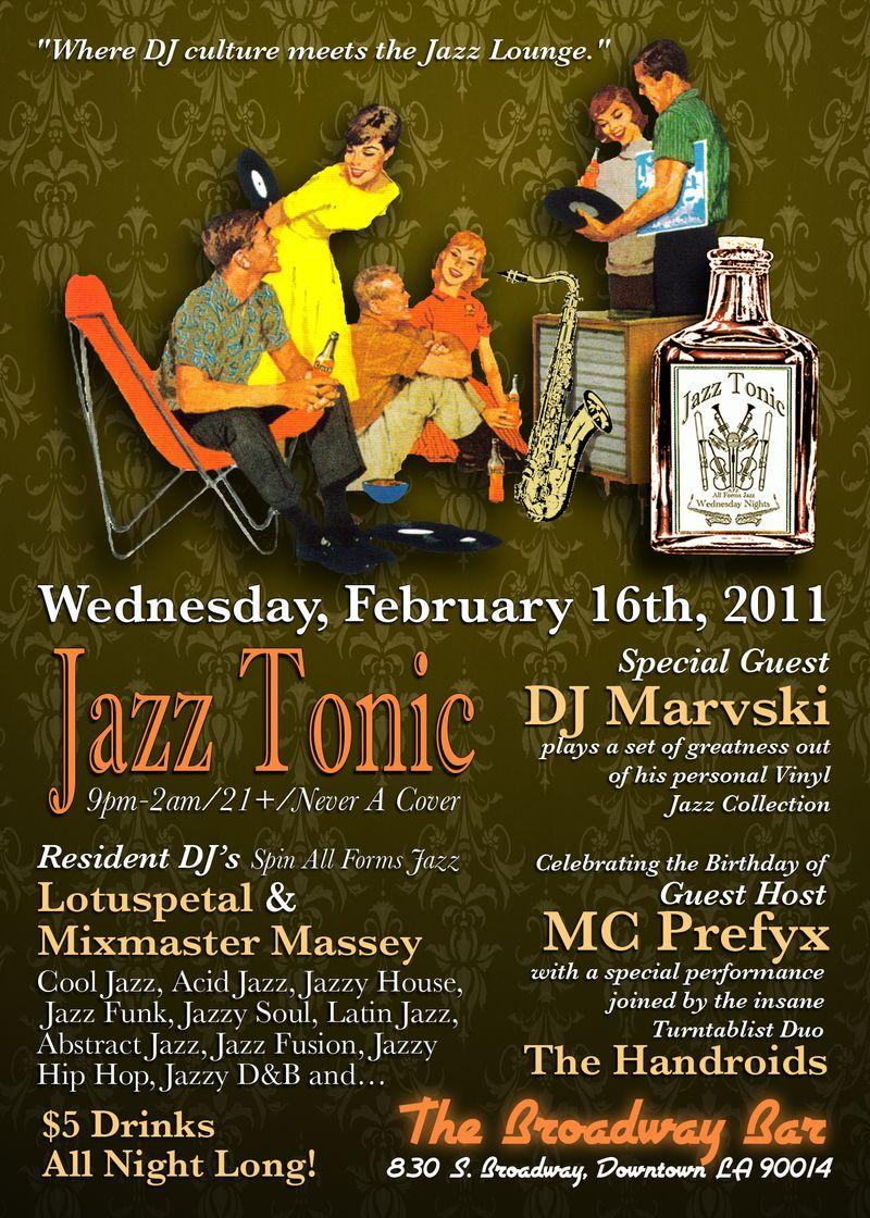 Jazz Tonic flyer 2.16.11 a
