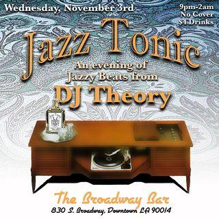 Jazz Tonic 11.3.10
